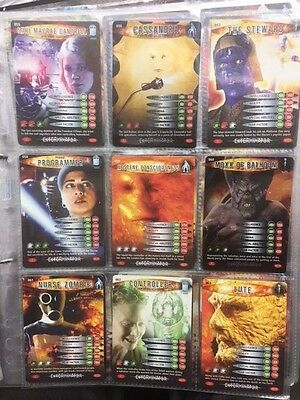 Doctor Who Battles In Time Cards 55-63