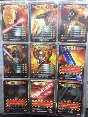 Doctor Who Battles In Time Cards 64 65 66 68 69 72 73 75 76