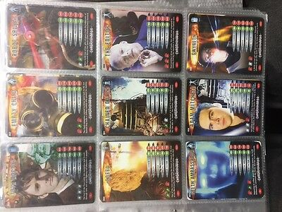 Doctor Who Battles In Time Cards 1-9