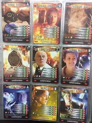 Doctor Who Battles In Time Cards 19-27