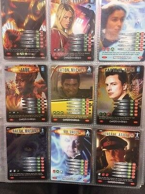 Doctor Who Battles In Time Cards 37-45