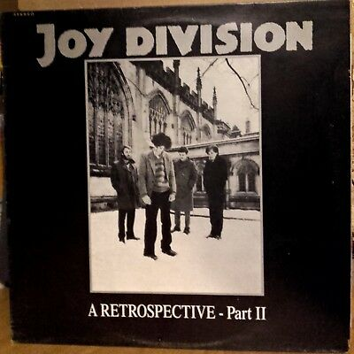 JOY DIVISION - A Retrospective Part II - LP Vinyl Stick-and-Role-Records 1987 UK
