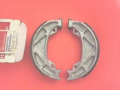 AERMACCHI HARLEY 44103-77M  MX250 FRONT or REAR  BRAKE SHOES 1978 MX 250