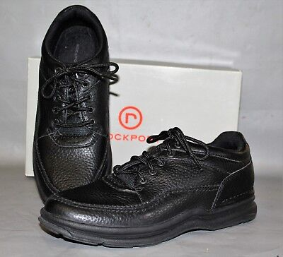 NEW Women's Rockport WT Classic Black Leather Supportive Casual / Comfort Shoe