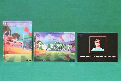 Limited Run Games Golf Story & GALF Trading Card Set 263 264 & 265