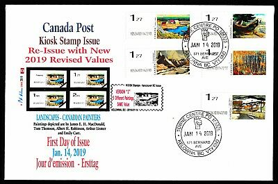 NEW 2019 KIOSK Computer Stamp Set of $1.27 FDC - CDN Picture Postage