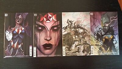 2018 Dc Comics Wonder Woman Justice League Variants #1 #56 #57 Witching Hour Nm