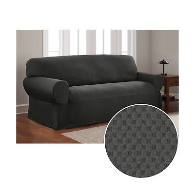 Pleasing Mainstays Pixel Stretch Fabric Furniture Armrest Covers Camellatalisay Diy Chair Ideas Camellatalisaycom