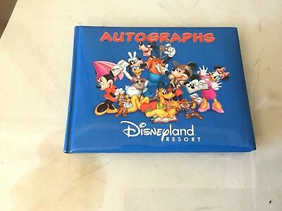 Disney Autograph Book unused Disney Parks Disneyland World