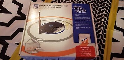 Zboost Cell Phone Signal Booster For 4G And 3G - Voice And Data Trio Soho Zb575
