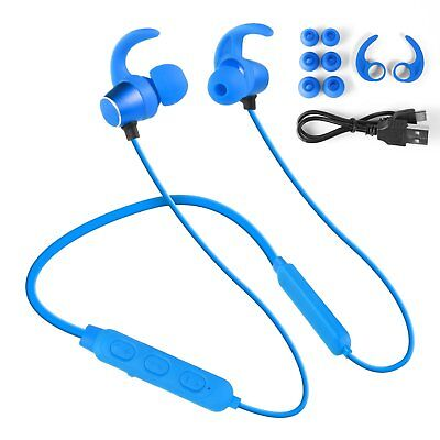 Bluetooth In Ear Headphones Neckband Wireless Sports Earbuds Magnetic Handsfree