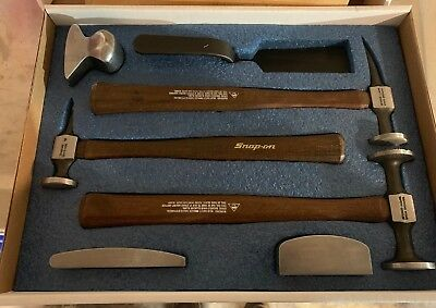 New! Snap-on 7Pc Body Tool Set 2007BFB