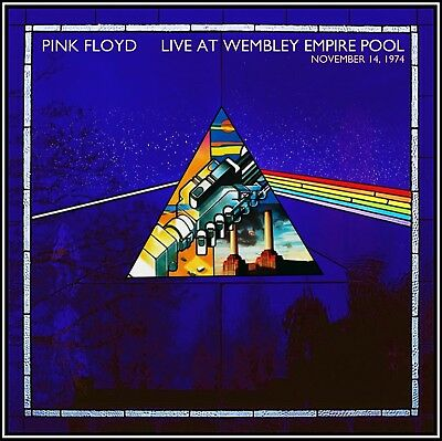 Pink Floyd - Live At Wembley Empire Pool  2-CD  DARK SIDE OF THE MOON LIVE 1974