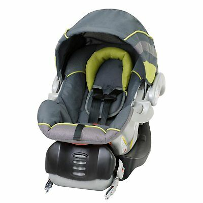 Baby Trend Flex-Loc 35 Pound Infant Car Seat,  canopy and Car Base