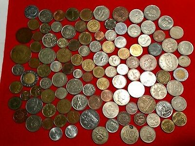 Mixed Lot of Foreign Coins-lot #2