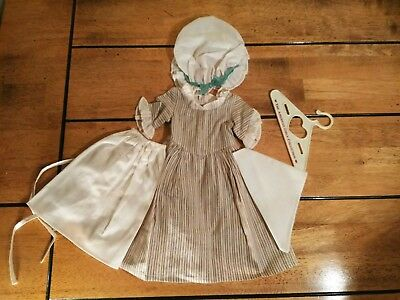 American Girl Felicity Work Dress Outfit -Pleasant Company (Retired)