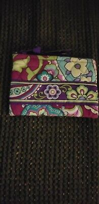 Plum Crazy Vera Bradley Coin Purse