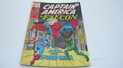 Captain America And The Falcon #137 (May 1971, Marvel)  Comic REDUCED