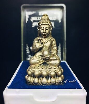 Phra Kring 7 Rob Pim Deed Nummon Wat Bavorn Thai Buddha Amulet Lucky Fortune