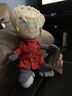 Pioneer Trigun Official Genuine Vash the Stampede Doll Plush New With Tags