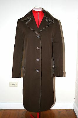Vintage 1960/70s Womens Trench Coat Jacket
