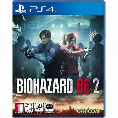 PS4 Resident Evil RE:2 (Korean English Japanese) With Free Gifts