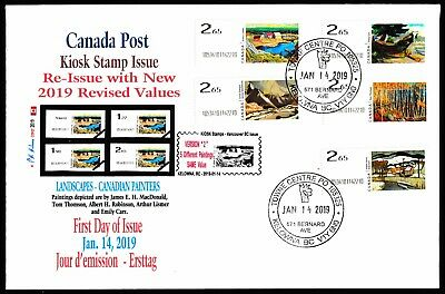 NEW 2019 KIOSK Computer Stamp Set of $2.65 FDC - CDN Picture Postage