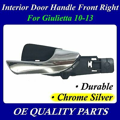 Interior Door Handle FR Chrome Silver For Alfa Romeo Giulietta 10-13 156092165