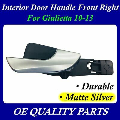 Interior Door Handle FR Matte Silver For Alfa Romeo Giulietta 10-13 156092165