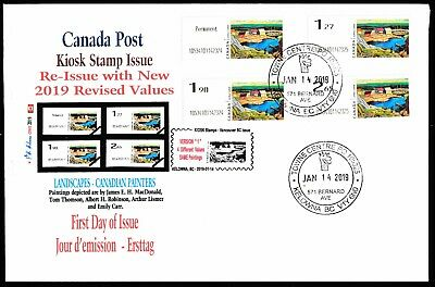 NEW 2019 KIOSK Computer Stamp LISMER FDC - CDN Picture Postage