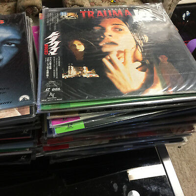 Laserdisc Lot #B- 10 movies for $40 your choices
