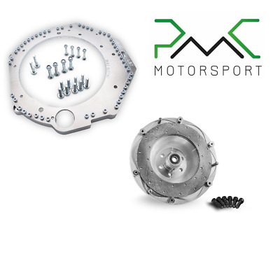 GM LS7 LS3 LS1 Conversion Kit Adapter and Flywheel for BMW GS6-53dz M57n SWAP