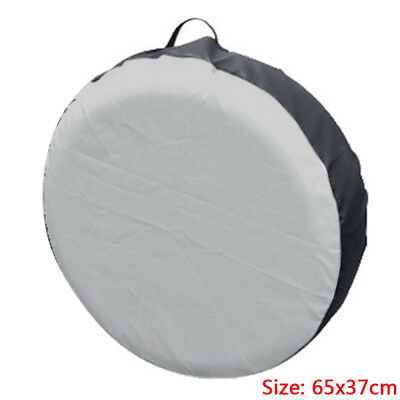 New Universal Black Silver Car SUV Tote Spare Tire Tyre Storage Cover Whe YIA