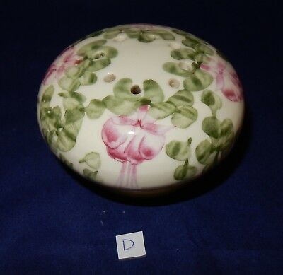 Vintage Cinque Ports Pottery The Monastery Rye Floral Pomander (D)