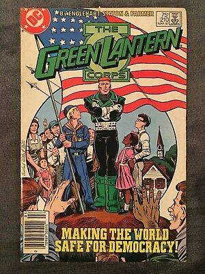 Green Lantern #210 - DC Comics - 1987 - Comic Book