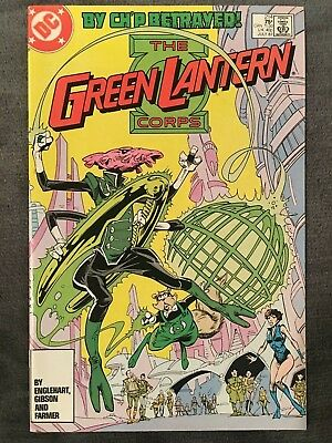 Green Lantern #214 - DC Comics - 1987 - Comic Book