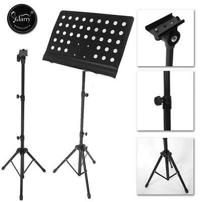 Heavy Duty Adjustable Orchestral Conductor Sheet Music Tripod Stand Foldable