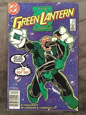 Green Lantern #219 - DC Comics - 1987 - Comic Book