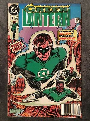 Green Lantern #1 3rd Series - DC Comics - 1990 - Comic Book
