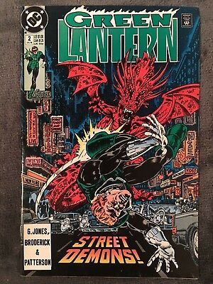Green Lantern #2 3rd Series - DC Comics - 1990 - Comic Book
