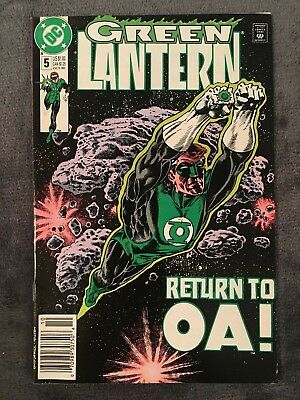 Green Lantern #5 3rd Series - DC Comics - 1990 - Comic Book