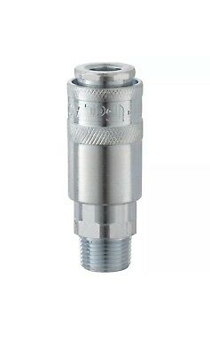 """Genuine PCL Airflow coupling airline fitting 1/4""""BSP Male AC21CM"""