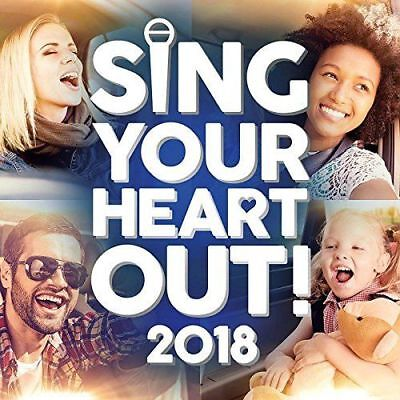 Various - Sing Your Heart Out 2018 - 2xCD Digipak  - Very Good Condition