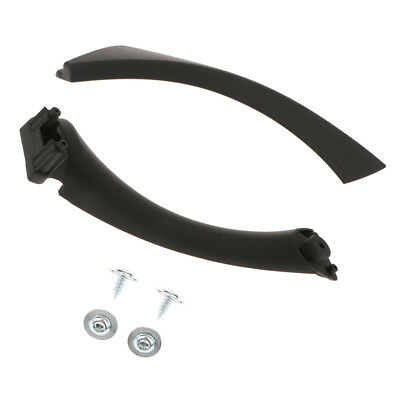 Right Inner Door Panel Handle Trim Covers for 04-12 BMW E90 335 and 3-Series