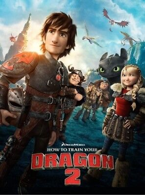How to Train your Dragon 2 [Region 4] - DVD - New - Free Shipping.