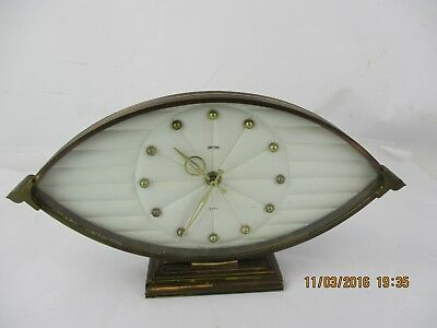 Vintage Smiths Windale 8 Day Mantle Clock