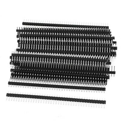 50 Pcs Single Row 40Pin 2.54mm Male Pin Header Connector J2K3