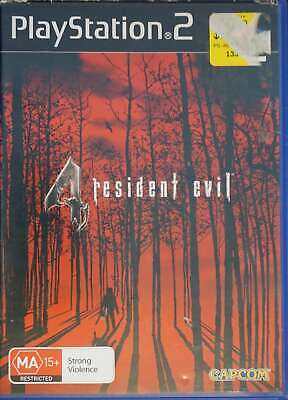 Playstation 2 PS2 Resident Evil 4 Game