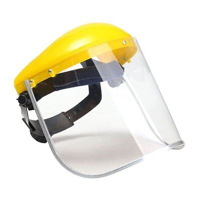 1x Clear Safety Grinding Face Shield Screen For Visors Eye Face Protection G4B1