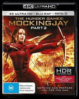 The Hunger Games - Mockingjay : Part 2 - 4K Ultra HD : NEW UHD Blu-Ray